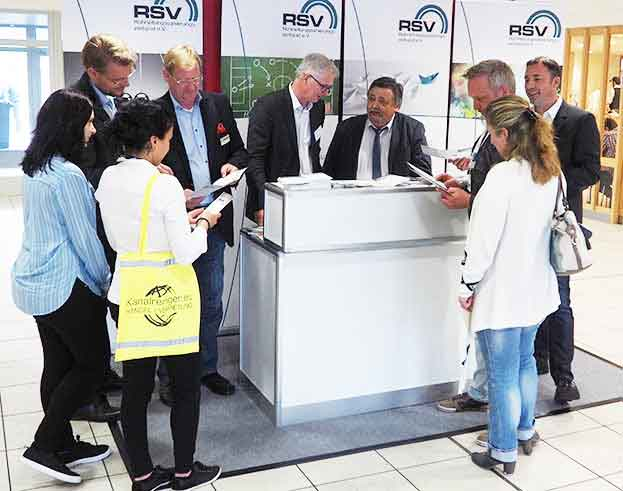 RSV Messestand RO-KA-TECH